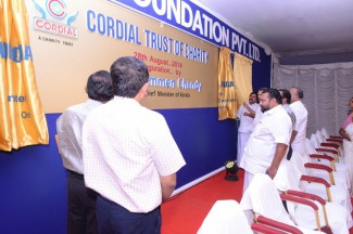 Unveiling of the CORDIAL TRUST OF CHARITY