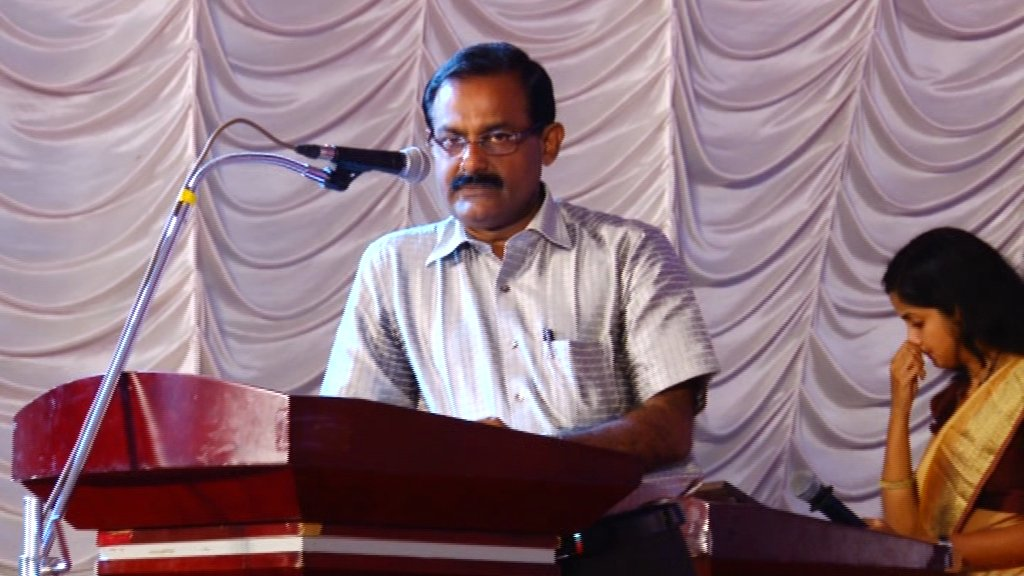 Vote of Thanks by  Mr.Kochaniyen Unnithan